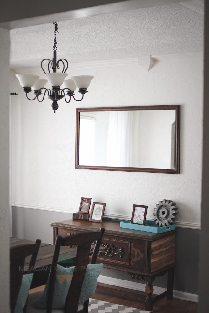 Meagan White Photo - our white house home tour016